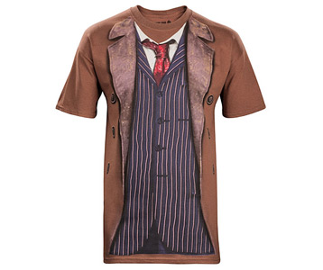 10th Doctor Costume T-Shirt