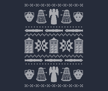 Doctor Who Christmas Sweater T-Shirt – Doctor Who Ugly Sweater Shirt