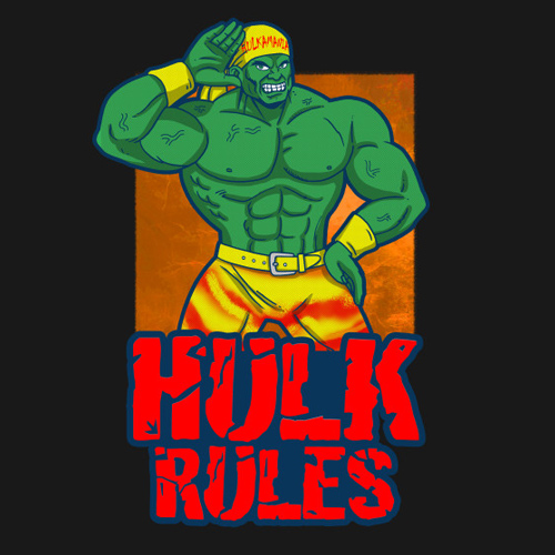 Free Comic Book Day Hulk Heroclix: The Incredible Hulk Hogan T-Shirt