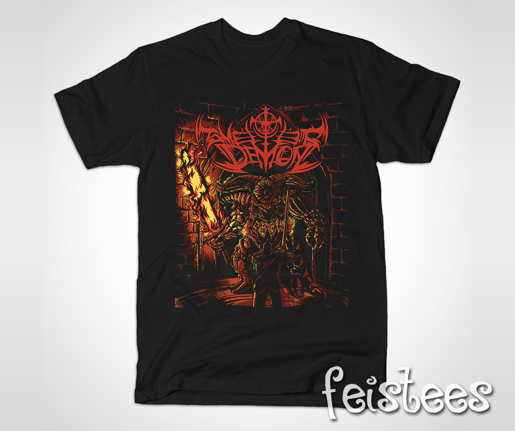 Dark Souls 2 T-Shirt – Smelter Demon Shirt, Dark Souls 2 ...