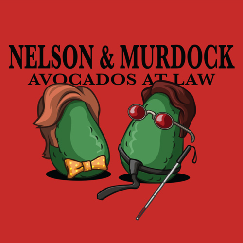 Avocados Daredevil T Shirt Avocados At Law Shirt
