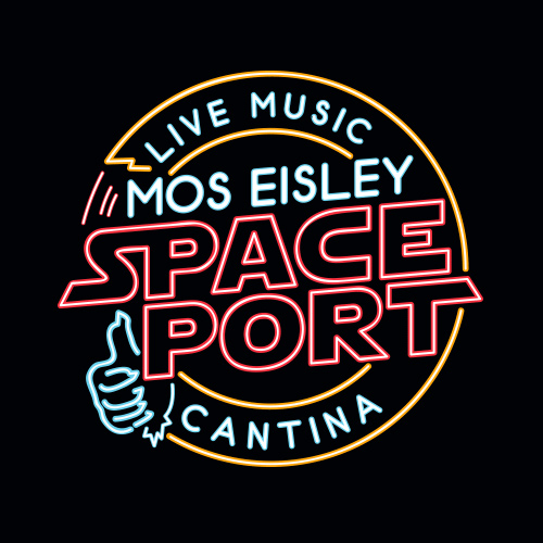Mos eisley star wars t shirt spaceport cantina for The menu moss eisley canape
