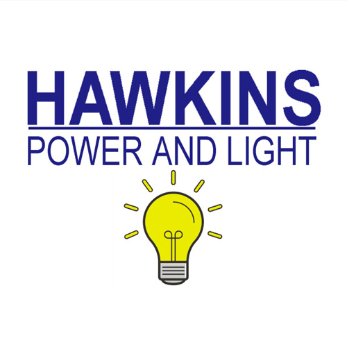 Hawkins Power and Light T-Shirt