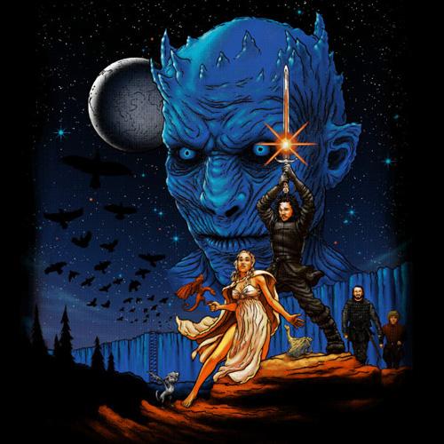 Star Wars Game of Thrones T-Shirt u2013 Throne Wars Shirt