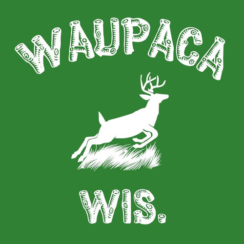 Dustin's Waupaca Wis. T-Shirt from Stranger Things