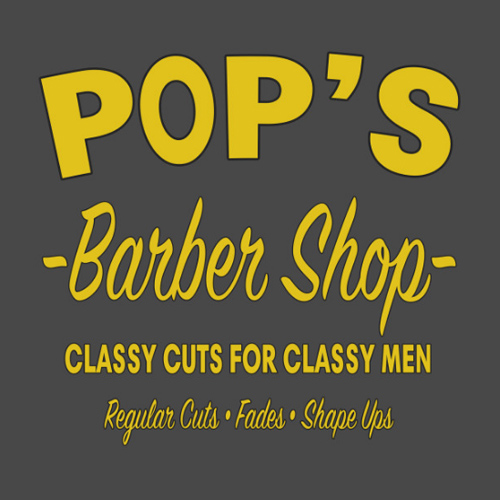 Pop's Barbershop T-Shirt