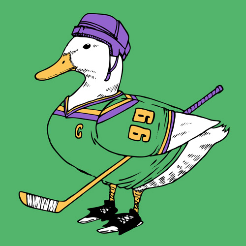 Funny Mighty Ducks T-Shirt