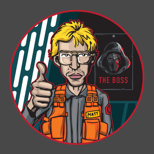 SNL Matt the Radar Technician T-Shirt