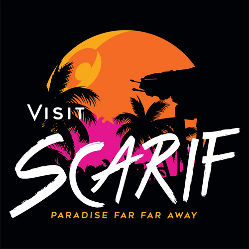 Visit Scarif Star Wars T-Shirt